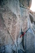 Rock Climbing Photo: Thin Line FA
