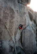 Rock Climbing Photo: Thin Line FA