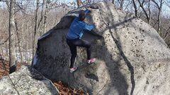 Rock Climbing Photo: West Side Traverse.