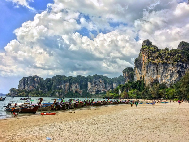Railay West and Tonsai Beach