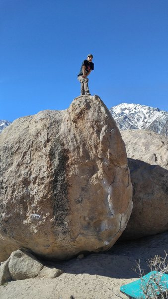 Post send, The Prow, Birthday Boulders, Buttermilks