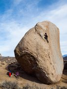 Rock Climbing Photo: Will topping out the SW Arete