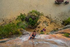 Rock Climbing Photo: Hot babe on Massage Secrets