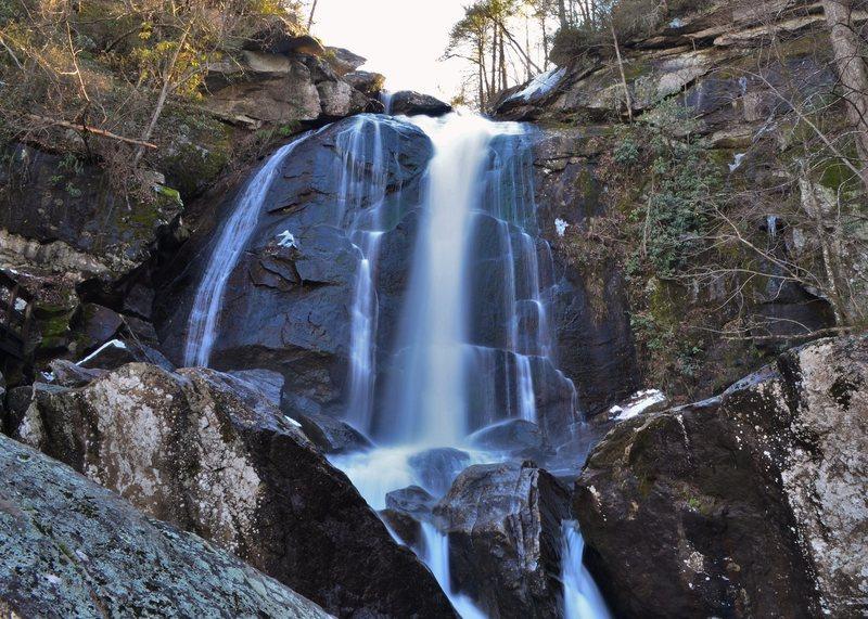 High Shoals Falls, South Mountains State Park North Carolina