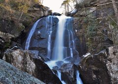 Rock Climbing Photo: High Shoals Falls, South Mountains State Park Nort...