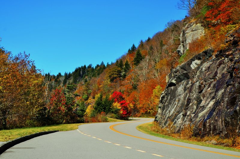 Rock Climbing Photo: Blue Ridge Parkway in NC