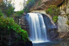 Rock Climbing Photo: Looking glass falls, Pisgah National Forest. Just ...