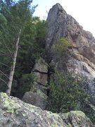 Rock Climbing Photo: View of Craving for Pink and Hidden Gem from the n...