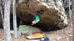 Rock Climbing Photo: Take as long as you need on this solid double knee...