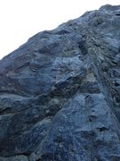 Rock Climbing Photo: 1st bolt missing from Kirk Arens Arete