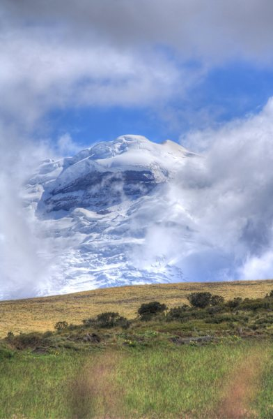 Rock Climbing Photo: Cotopaxi from near Hacienda Porvenir (Marks / 2014...