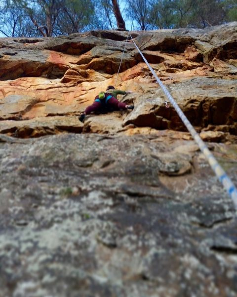 Rock Climbing Photo: Lower Leda
