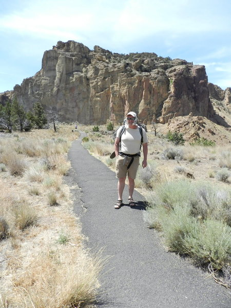 Hank Bauer, Smith Rocks State Park, Bend Oregon July 2015