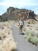 Rock Climbing Photo: Hank Bauer, Smith Rocks State Park, Bend Oregon Ju...