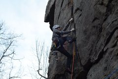 Rock Climbing Photo: great route for starting out with great start.