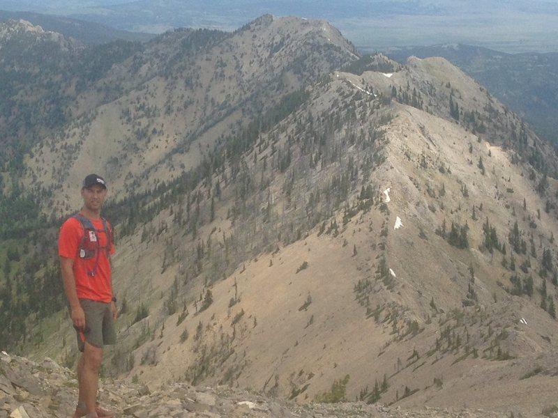 Rock Climbing Photo: Bridger Ridge, just outside of Bozeman, MT in June...