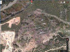 Rock Climbing Photo: Destroyed South Table Mountain.