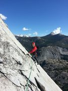 Rock Climbing Photo: As you start the 2nd Pitch from the 60 meter rope ...