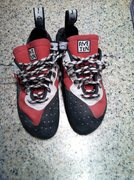 Size 10. Used a few times. Too small for me really