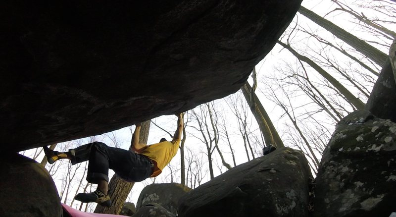 Rock Climbing Photo: Interesting angle of Before the Storm
