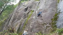 Rock Climbing Photo: Beau TRing some redness