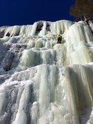 "Rock Climbing Photo: Leading ""Guardian Angel"""