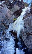 "Rock Climbing Photo: Toproping ""Where Egos Dare"""