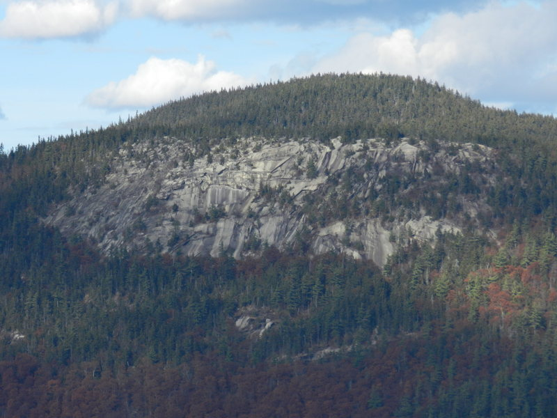 Iron Mountain and it's South Cliffs. Photo was taken from Mt. Pickering