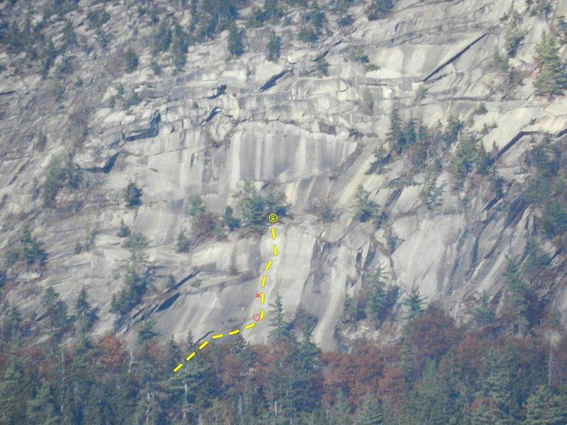 Rock Climbing Photo: Iron Arch