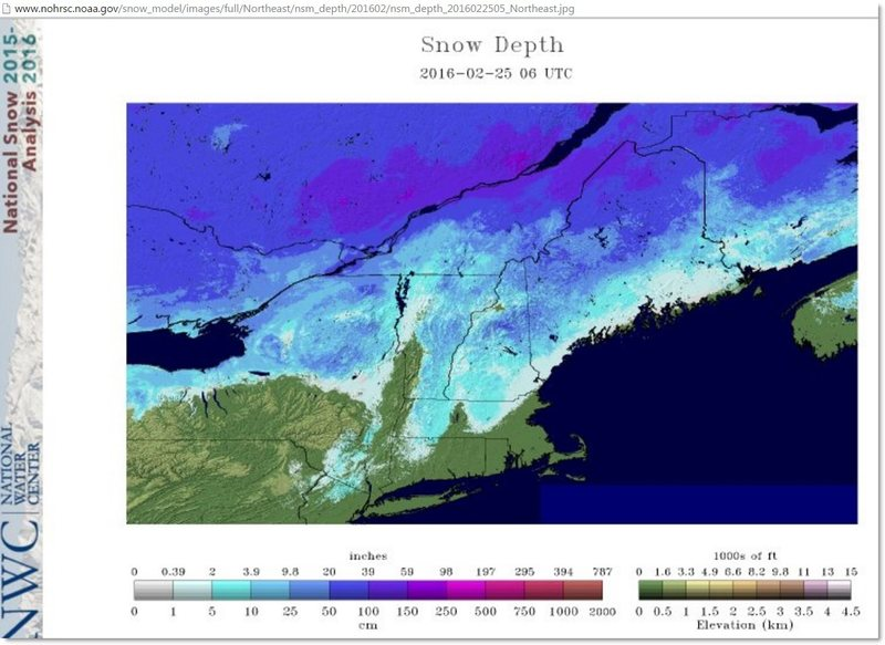 snow coverage NE
