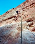 Rock Climbing Photo: At the gap