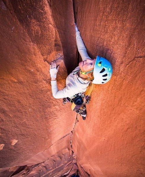 Rock Climbing Photo: top sirloin