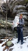 Rock Climbing Photo: Ice Climbing- climbing while being in contact with...