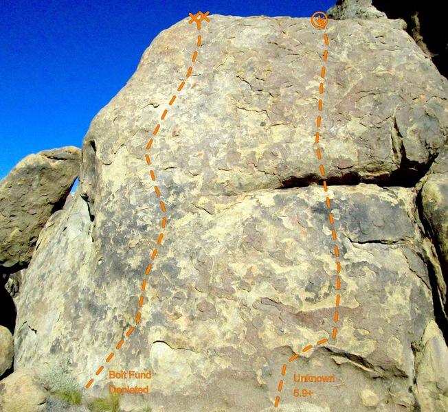 Rock Climbing Photo: Want a super scabby 5.6 top rope?  Look no further...