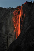 Rock Climbing Photo: Horsetail Falls, for the intrepid climbers who vis...