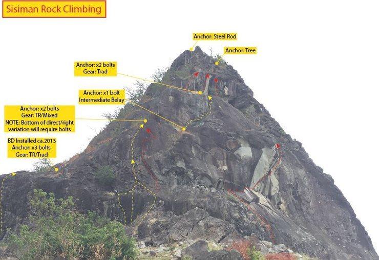 Rock Climbing Photo: West Wall aka Dong In Wall