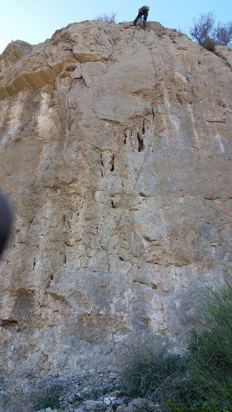 Rock Climbing Photo: Vas con Tenis