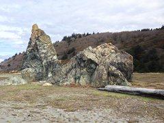 Rock Climbing Photo: ossagon rocks