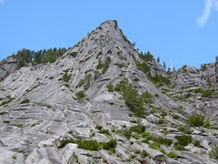 Rock Climbing Photo: Green Giant Buttress.