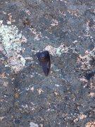Rock Climbing Photo: Old El Niño bolt.