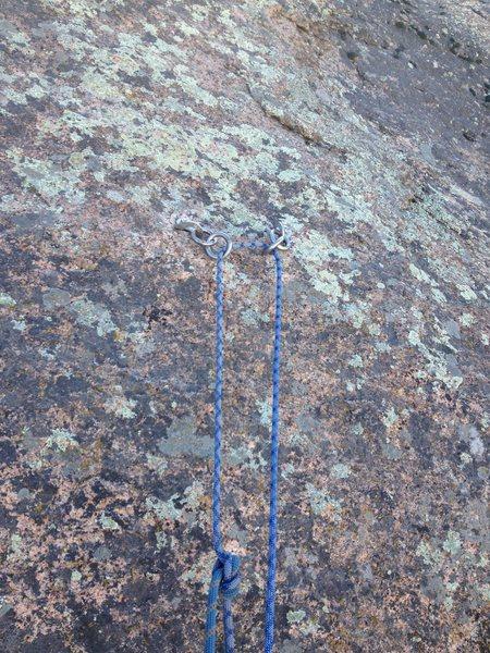 Rock Climbing Photo: El Niño anchor.