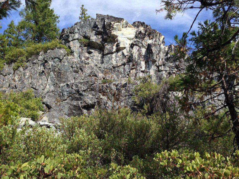 Rock Climbing Photo: the builder temple