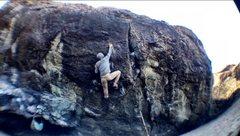Rock Climbing Photo: Houda Shretah crux