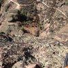 View from Machete Ridge