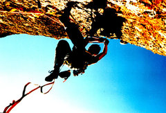 Rock Climbing Photo: Eric Collins on Machete Ridge direct