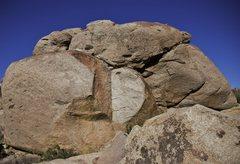 Rock Climbing Photo: Playing dangerous.