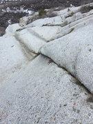 Rock Climbing Photo: looking down