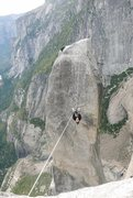 Rock Climbing Photo: Lost Arrow tyrolean glory