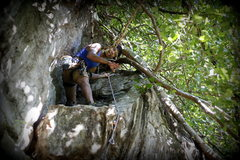 Rock Climbing Photo: Aung Khaing Myint on Wounds and Wins