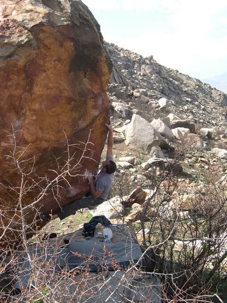 Rock Climbing Photo: There is a limited number of high quality boulders...